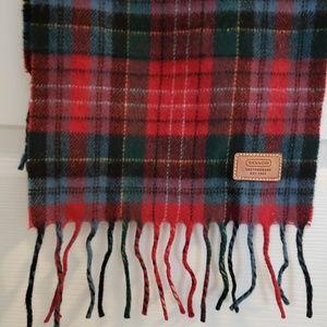 Coach Accessories - Coach plaid scarf